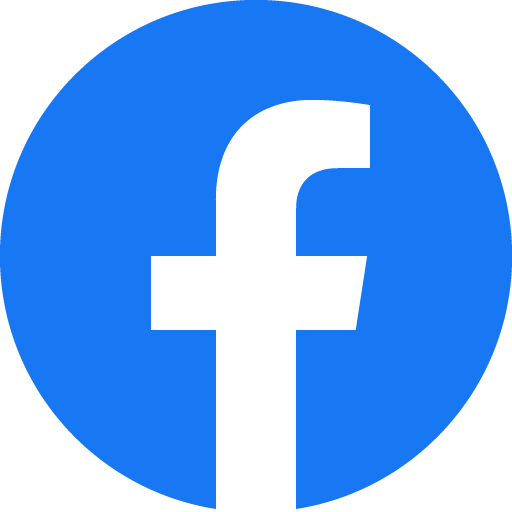 facebook logo which is blue with a white lower case letter f.
